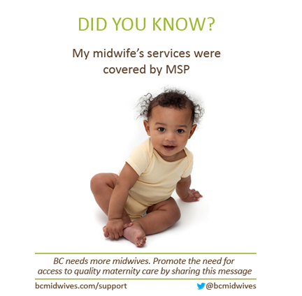 We Support BC Midwives